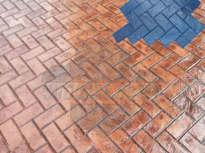 Herring bond used brick Project (2)