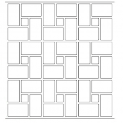 Stenciled Patterns7