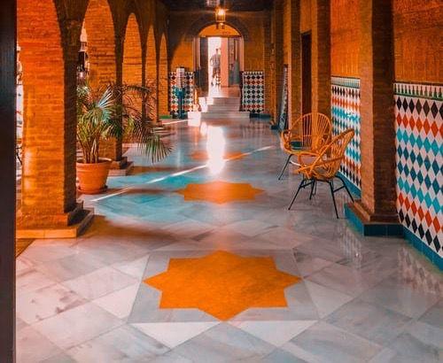 outdoor concrete floor