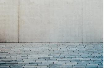 a picturer of cement vs concrete